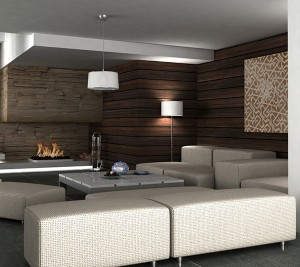 ATCR Retro Brown Living Room B